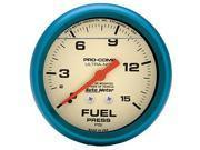 Auto Meter 4211 Ultra-Nite; Fuel Pressure Gauge