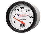 Auto Meter 5827-00407 GM Series Electric Oil Pressure Gauge