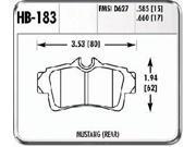 Hawk Performance HB183F.585 Disc Brake Pad 9SIV18C6BT3734