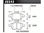 Hawk Performance HB543F.760 Disc Brake Pad 9SIA43D1DD2705