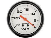 Auto Meter Phantom Mechanical Vacuum Gauge