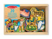 Melissa & Doug - Magnetic Wooden animals 9SIAC9055T4865