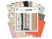 "Switchboard Paper Pad 12""X12"" 48/Sheets-Single-Sided"