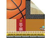 """Game On! Double-Sided Cardstock 12""""X12""""-Play Hard"""
