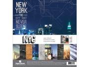 "Paper House Paper Crafting Kit 12""""X12""""-New York City"" 9SIA17P3V33997"