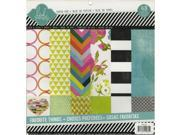 "Favorite Things Paper Pad 12""X12"" 48/Sheets-Single-Sided"