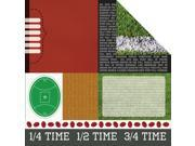 """Game On! Double-Sided Cardstock 12""""X12""""-Mvp"""