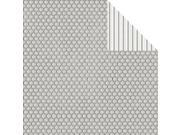 """Elegant Chic Double-Sided Cardstock 12""""X12""""-Honeycomb"""