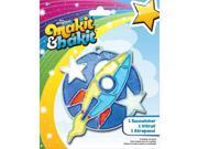 Makit & Bakit Suncatcher Kit-Rocket