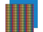 """School Double-Sided Cardstock 12""""X12""""-School Sweater"""