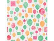 "Cherry Blossom Spot Varnish Cardstock 12""X12""-Lanterns"