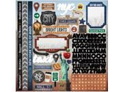 """Paper House Cardstock Stickers 12""""""""X12""""""""-New York City"""" 9SIA17P3V34020"""