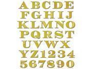 Spellbinders Shapeabilities Dies-Etched Alphabet W/Numbers