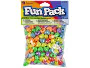 Fun Pack Heart Pony Beads ?mm ?/Pkg-Multicolor
