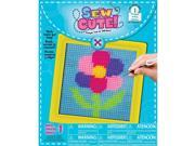 Learn To Sew Needlepoint Kit-Flower