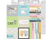 "Image of Kitten Smitten Double-Sided Cardstock 12""X12""-Morning Mews"