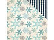 """Image of Snow Fun Double-Sided Cardstock 12""""X12""""-Shimmering Snowflakes"""