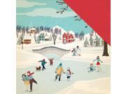 """Image of Snow Fun Double-Sided Cardstock 12""""X12""""-Winter Wonderland"""