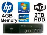 HP Elite 8200 Ultra Slim Desktop Computer Bundle- Core i3 3.33GHZ - *NEW* 2TB HDD - 4GB RAM - WIFI - Dual Monitor Output - DVD-ROM - Windows 7 Pro 64-Bit Operating System.