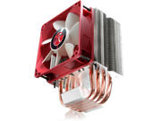 RAIJINTEK AIDOS, 4 6mm Heat-Pipe, 92mm PWM Fan, Compact Size CPU Cooler, Multiple Mounting Kits For Intel & AMD