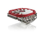 RAIJINTEK PALLAS, High-End Low Profile CPU Cooler, 6pcs 6mm Heat-Pipe, Slim 14013 PWM Fan, Fully Nickel Plating, Copper Base, Total 68mm Heigth Including Fan, Supports Intel & AMD Modern CPU Sockets