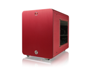 RAIJINTEK METIS RED - Aluminum M-ITX Case, USB 3.0* 2, Compatible with Standard ATX Power supply, 170mm VGA Card length, 160mm CPU Cooler height, 120mm Performing Fan pre-installed, 7 colors option