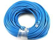 Blue Gold Plated 50FT CAT5e RJ45 PATCH ETHERNET NETWORK CABLE 50 FT For PC, Mac, Laptop, PS2, PS3, XBox, and XBox 360 to hook up on high speed internet from DSL or Cable internet