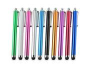 10-In-1 ZEBRA Print Stylus Pens Pack For Samsung GALAXY BEAM i8520/Apple iPhone 5