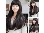 New Style Womens Girls Sexy Long Fashion Curly Full Wig+wigs cap gift 9SIA6706BM5603