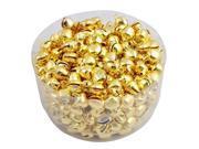 THZY 100 Pcs Iron Jingle Bells Gold