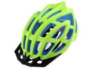 SODIAL BaseCamp 24 Air Vents PC EPS Breathable Sweat Absorbent MTB Road Mountain Bicycle Cycling Bike Helmet Hat Cap Outdoor BC-013(Fluorescent green + blue) 9SIA6706ED2602