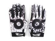SODIAL QEPAE Warm Winter Windproof Cycling Bike Bicycle MTB Motorcycle Full Finger Gloves Size:XL Main Colour:Black&White 9SIA6706ED2288