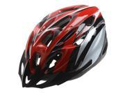 SODIAL Red Black Mountain Road Race Bicycle Bike Cycling Safety Unisex Helmet + Visor L 9SIA6706ED5702