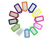 Image of SODIAL Cruise Luggage Tag Holders, Premium tag Baggage Document Holders,Pack of 12