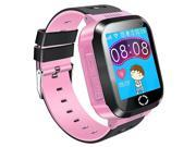 SODIAL Kids GPS Smartwatch, 1.44 inch Smart Watch Bracelet For Children Christmas Gifts with Touch Screen Camera Pedometer Anti-lost SOS Compatible for iPhone A