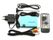 Digital TV Box LCD VGA/AV Tuner DVB-T FreeView Receiver