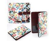 Flower Leather iPad Accessories Case Cover Stand For iPad Mini 1 2