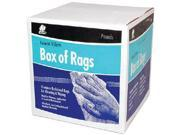 Buffalo Industries 10080 RAG-WIPING COLOR 4LB BOX