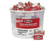Hyde Tools 49500 RAZOR BLADES PAIL 100 5-PACK