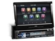 BOSS AUDIO BV9979B 7 Single DIN In Dash Flip Up DVD Receiver with Bluetooth R
