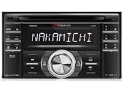New Nakamichi Na788 2 Din In Dash Car Audio Bluetooth Stereo Receiver Cd Player
