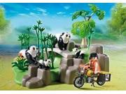 Pandas In Bamboo Forest Wild Life