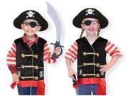 Melissa & Doug Pirate Role Play Costume Set 9SIA05U09V2481