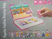 Popular Fashion Girl Dressup Magnetic Play Book 9SIA67Z5SY9922