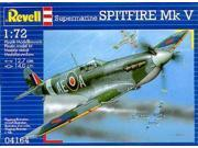 Spitfire Mk.v Paint And Glue Model Kit