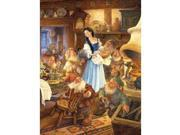 Snow White and the Seven Dwarves 300 Piece Book Puzzle by Masterpieces Puzzle Co. 9SIA7WR3GE1634
