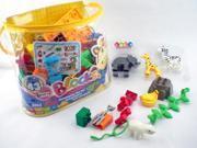 Zoo Animal Blocks Play Set 9SIA67Z38V8271
