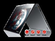 "Lenovo Yoga 3 Pro Convertible Ultrabook - Intel Core M 5Y70, 512GB SSD, 8GB RAM, 13.3"" QHD+ 3200x1800 Touchscreen, AC Wireless, Windows 8.1 Pro (Silver)"