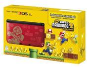 Nintendo 3DS XL Super Mario Bros. 2 Gold Edition Bundle