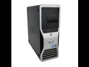 Dell Precision T5500 X5650 6C 2.66Ghz 48GB 500GB 2TB Dual DVI Win 7 Pro
